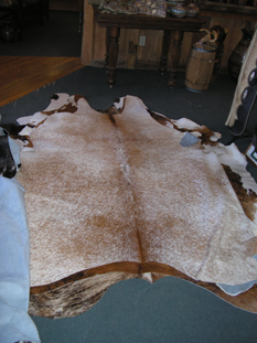 western collectibles-western calf cowhide 31